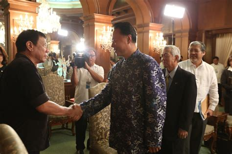 president xi jinping delivers 2016 new year message ambassador visited pres rody in malaca 241 ang to