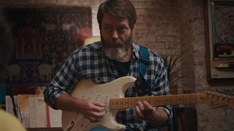 nick offerman record store nick offerman is the most adorable indie dad in this
