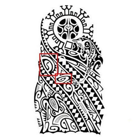 polynesian tattoo meanings tiki design sample f