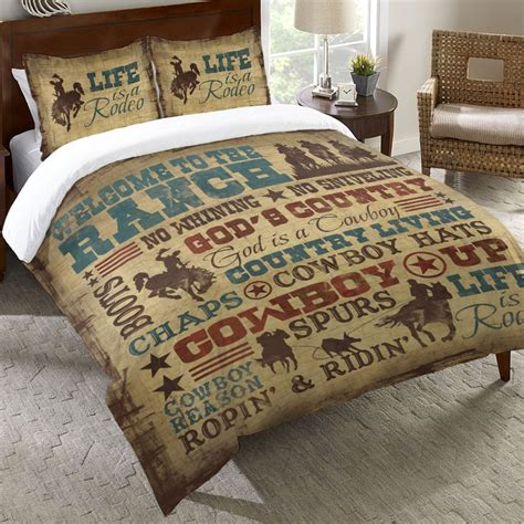 cowboy bedding cowboy lifestyle bedding collection