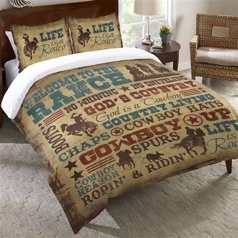 Cowboy Lifestyle Bedding Collection Cowboy Bedding