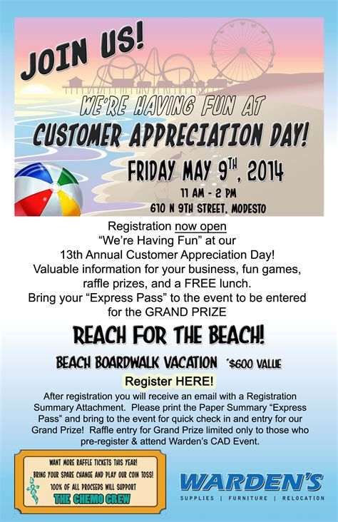 Customer Appreciation Invitation Letter Customer Appreciation Day 22 Days Away