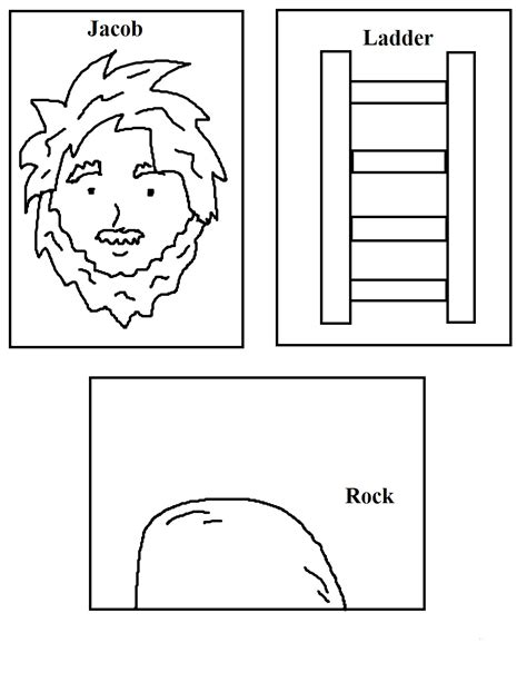 free bible coloring pages jacob s ladder jacob s ladder sunday school lesson