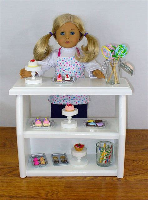 etsy american girl doll house american girl doll furniture 18 quot doll furniture bakery