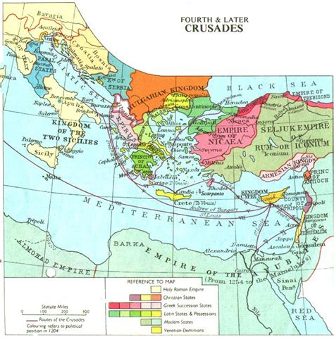 maps of the crusades decameron web maps