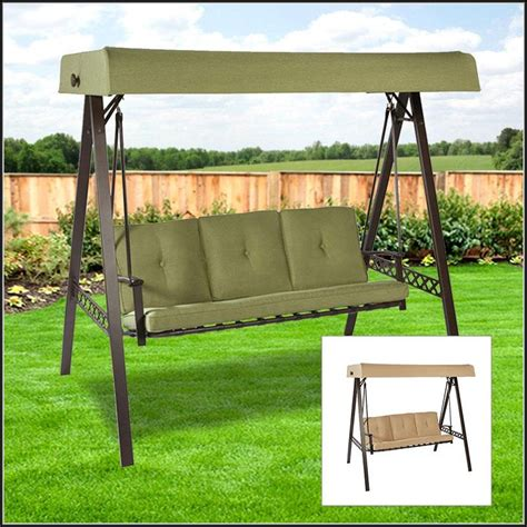 patio swing replacement cushions and canopy patios