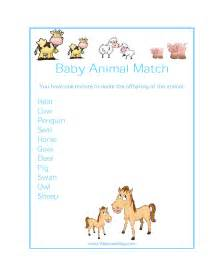 Baby animal match game free baby animal match game free baby animal