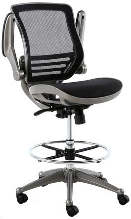 most comfortable drafting chair harwick evolve heavy duty mesh drafting chair gunmetal