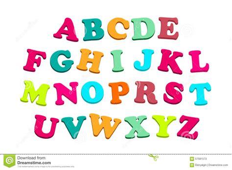 Lettre De L école Freudienne Alphabet Avec Les Lettres Color 233 Es Illustration Stock Image 57581573