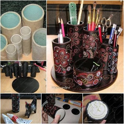 Craft Ideas With Paper Towel Rolls - uses for paper towel toilet paper rolls feeling crafty