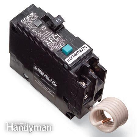 bedroom circuit breaker fix a sensitive arc fault circuit breaker the family handyman