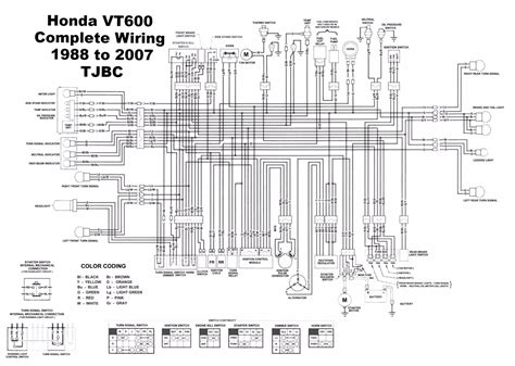 honda vlx 600 wiring diagram wiring diagram schemes