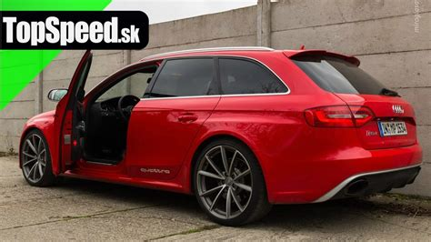 Audi Typ B8 by Test Audi Rs4 Typ B8 Topspeed Sk