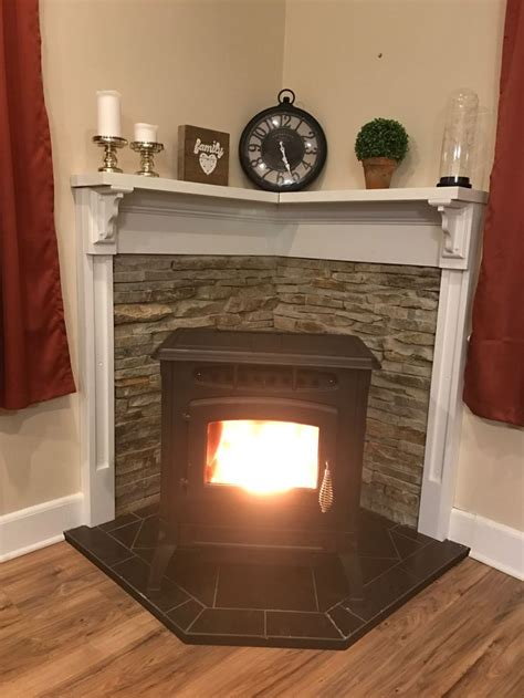Replace Gas Fireplace With Pellet Stove by Se Pinterests Topplista Med De 25 B 228 Sta Id 233 Erna Om Diy
