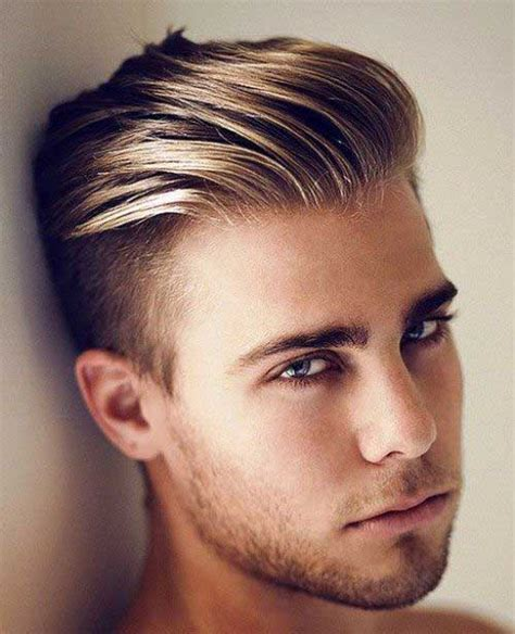 hairstyles short in back and long sides mens hairstyles short back and sides longer on top hair