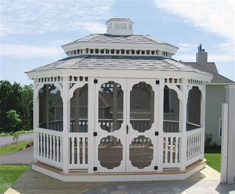 enclosed gazebo enclosed screen gazebos country gazebos