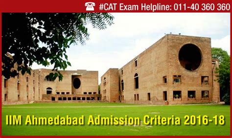 Top Mba Colleges In Ahmedabad Through Cmat by Iim Ahmedabad Admission Criteria 2016 18