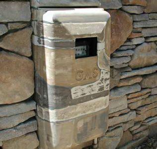 Regulator Gas Modern Gas Meter how to hide utlities on outside of your house gas meter