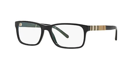 be2162 shop burberry rectangle eyeglasses at lenscrafters