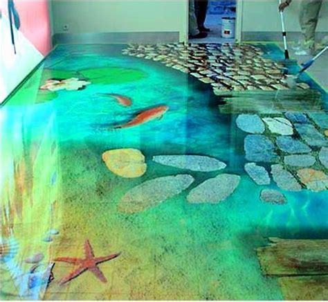 3d bathroom floor art 3d flooring ideas and 3d bathroom floor murals designs