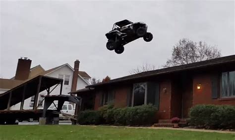travis pastrana house jumping over a house with an atv video daily picks and flicks