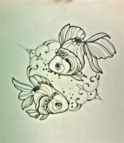 goldfish sketches amp tattoo by miss juliet