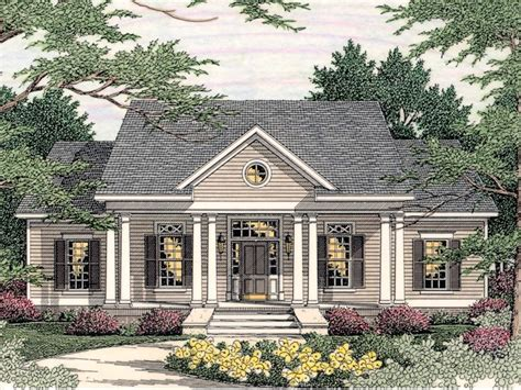 southern home designs southern colonial floor plans 171 home plans home design
