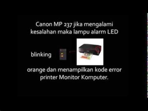 reset printer canon mp237 error 1401 how to fix ink absorber is full on mp237 funnydog tv