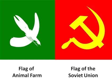 Flags Animals laklylit animal farm