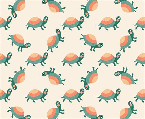 turtle pattern jpg free cartoon turtle vector pattern vector art graphics