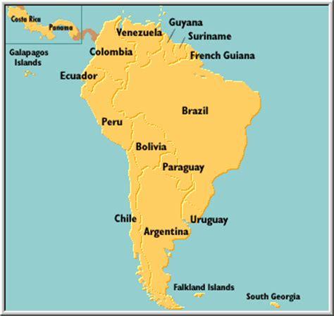 south america map costa rica map of south america costa rica map