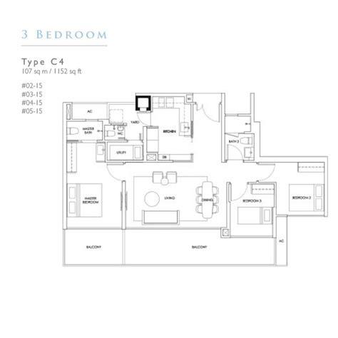 three three robin floor plan new condo launch robin residences