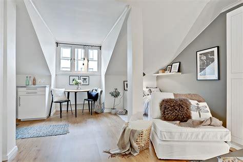 apartment mit 1 schlafzimmer dekorieren ideen гарсониера во поткровје divian arts