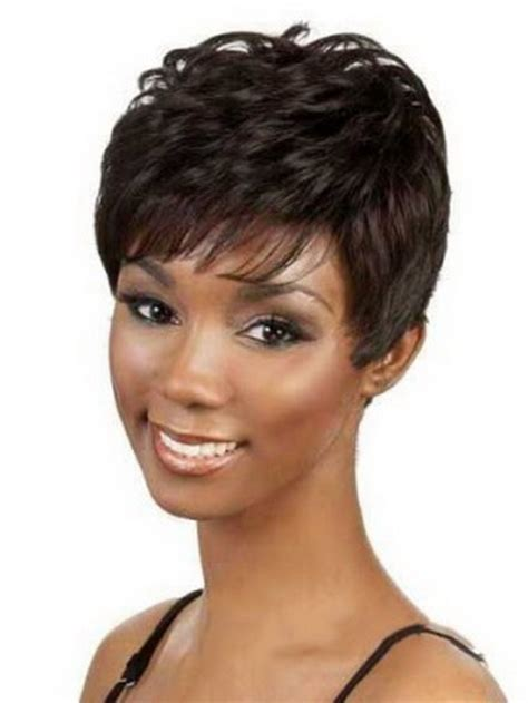 cute weaves short weaves for large foreheads black wig hairstyles