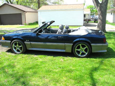 1989 mustang gt cobra 1989 ford mustang gt cobra convertible must see no res for