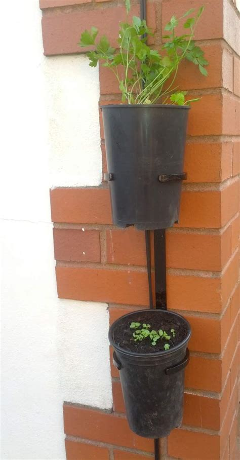 Wall Pot Stand Wall Mounted Container Garden Made To Order Bespoke Folk