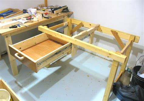 Building Drawers For A Workbench by Open Bottomed Workbench