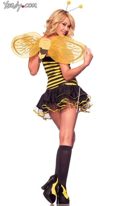 Raly cheap sex bumble bee costume