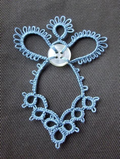 free patterns knitting crochet tatting tatted angel with button free tatting patterns pinterest