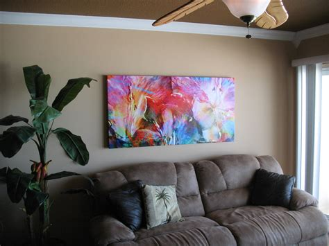 Schublade 60 X 30 by Customer Pictures Large Abstract Canvas