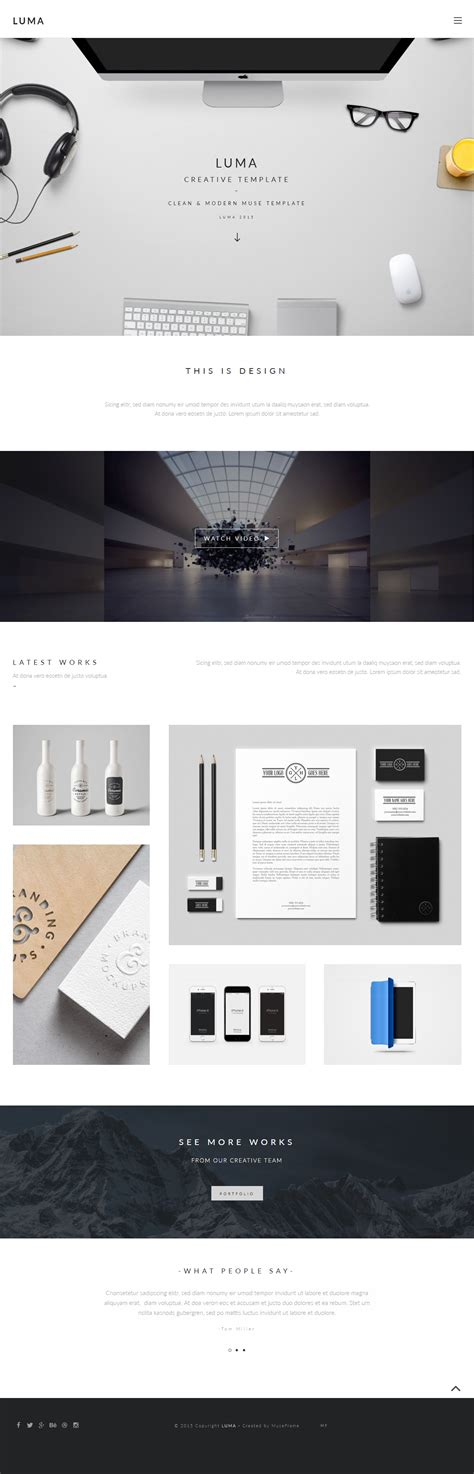 muse templates for photographers 25 best adobe muse portfolio templates 2017 responsive