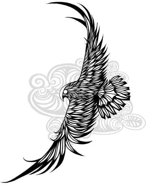 tribal falcon tattoo a falcon design i created for my still