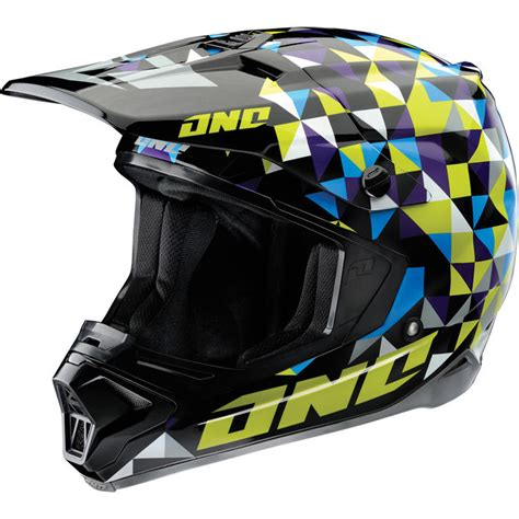 one helmets motocross one industries gamma trixle motocross helmet clearance