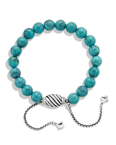 david yurman spiritual bead bracelet david yurman spiritual bracelet with turquoise in