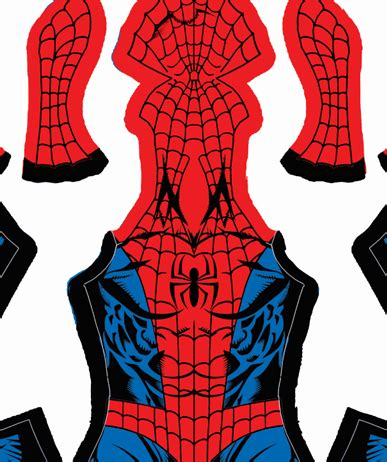 spiderman head pattern mark bagley spider man pattern