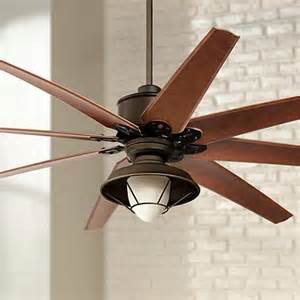 72 Ceiling Fan With Light 72 Quot Predator Bronze Outdoor Ceiling Fan With Light Kit