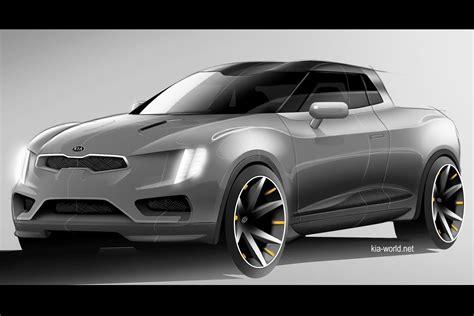 Kia Ute Kia Truckster Ute Concept On The Horizon Performancedrive
