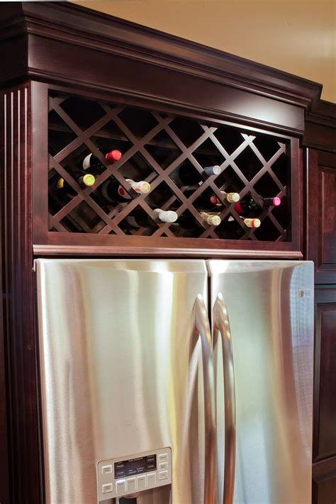 kitchen cabinet wine storage wine refrigerator cabinet built in woodworking projects