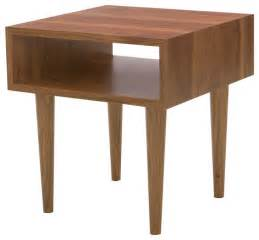side accent table classic side table walnut midcentury side tables and end tables by eastvold furniture