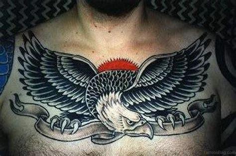 41 Realistic Eagle Tattoos On Chest Eagle Chest